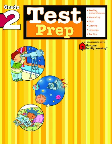 Test Prep  Grade 2  Flash Kids Harcourt Family Learning