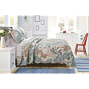 51hF%2Bb7AXnL._SS300_ Coastal Bedding Sets & Beach Bedding Sets