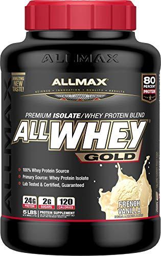 ALLMAX Nutrition AllWhey Gold Whey Protein, Vanilla, 5 lbs