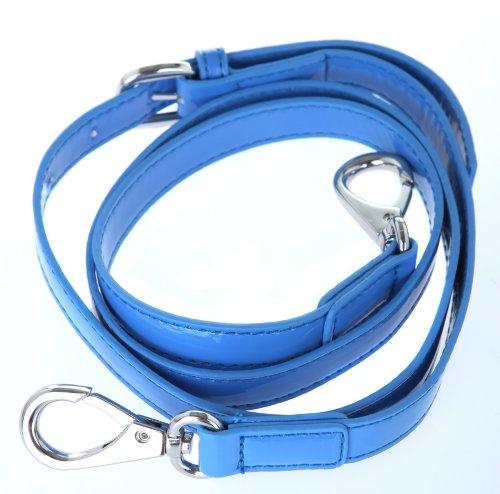 Versace, Borsa tote donna blu blu