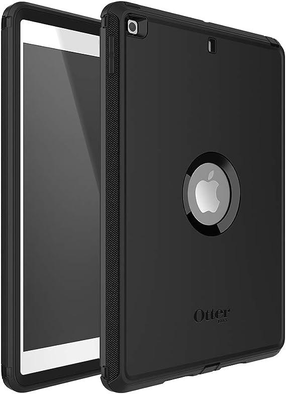 Otterbox Defender Robuste Sturzsichere Schutzhülle Für Apple Ipad 10 2 Zoll 7th Gen 2019 8th Gen 2020 Schwarz Elektronik