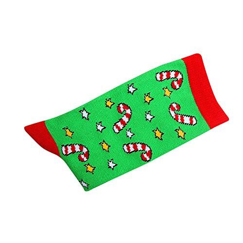 Women's Winter Comfortable Socks Christmas Gift Warm Soft Cotton Sock Multi-Color Women's Winter Socks HunYUN -