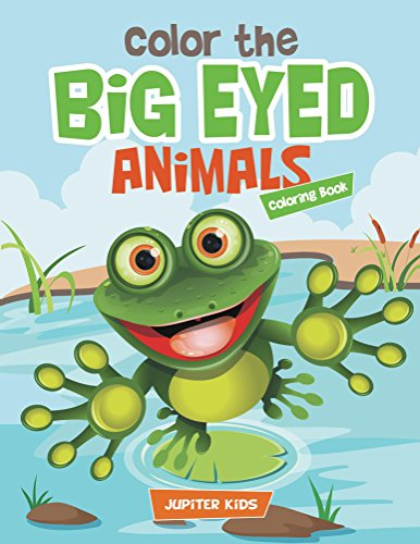 Color Eyed Animals Coloring Animal ebook