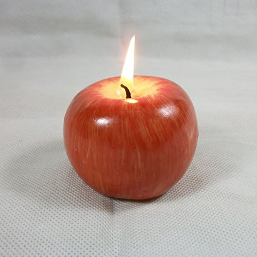 Red Apple Candele Making Decorative Bougie Candles Light Wedding Party Home Decoration Candle Velas Gift