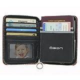 Ögon - Quilted Passport Aluminium Wallet, travel