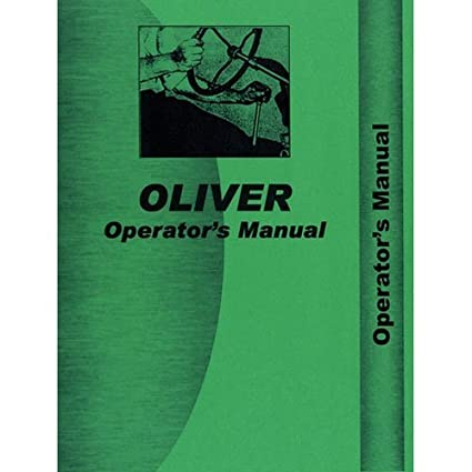 Amazon.com: Manual del operador - OL-O-770 880 Oliver 880 ...
