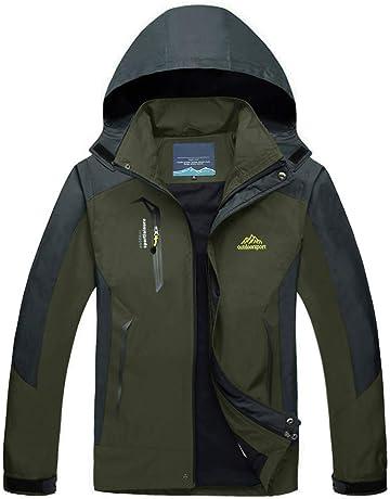 MAGCOMSEN Men s Lightweight Windproof Jacket Spring Fall Hiking Running  Jacket Hooded Raincoat Windbreaker ced7ea073