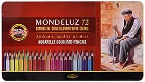 Koh-I-Noor 3727072001PL - Caja de 72 lápices color