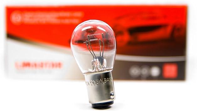 10 Stück Ba15d S25 21 5w Glühlampe Birne Auto Lampe Pkw Motorrad Weiß 12v Auto