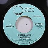 TAI PHONG 45 RPM SISTER JANE / SISTER JANE