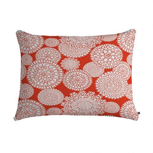 Deny Designs Heather Dutton Delightful Doilies Saffron Pet Bed, 28 by 18-Inch