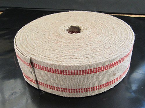 Red Stripe Jute Web Crafting Auto Furniture Upholstery Supp Sew General 5 yards by Lotus energy by Lotus energy