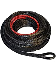 """Ranger 6,000 LBs 3/16"""" x 50' UHMWPE Synthetic Winch Rope 5 MM x 15 M for ATV Winch"""