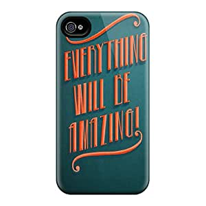 Fashion Design Hard Case Cover/ CMPpMbx5192wQUHi Protector For Iphone 4/4s