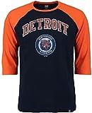 VF Detroit Tigers MLB Mens Don't Judge 3/4 Sleeve Raglan Shirt Size 2XT