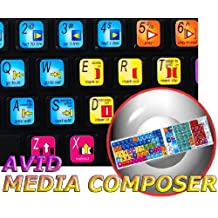 Avid Media Composer keyboard stickers