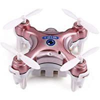 Mini Dorne WIFI FPV Android APP Remote Control 2.4GHz 4CH 6 Axis Quadcopter Helicopter with 0.3MP HD Camera (Rose Pink)