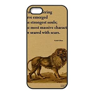 Words To Live By iPhone 5,5S Case Black Yearinspace021227 Kimberly Kurzendoerfer