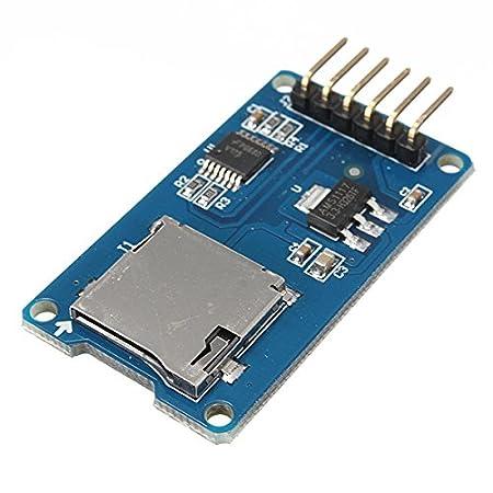LaDicha 20Pcs Micro SD TF Tarjeta De Memoria Módulo SPI ...