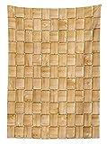 Beige Decor Tablecloth Illustr
