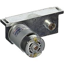 DC 12V 22RPM Shaft 2 Pins 37mm Diameter Electric Power Geared Motor