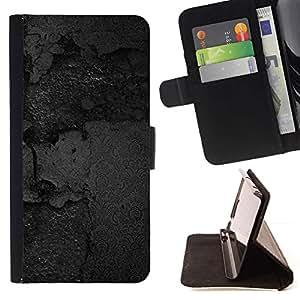 For Sony Xperia M5 E5603 E5606 E5653 Case , Textura Negro- la tarjeta de Crédito Slots PU Funda de cuero Monedero caso cubierta de piel