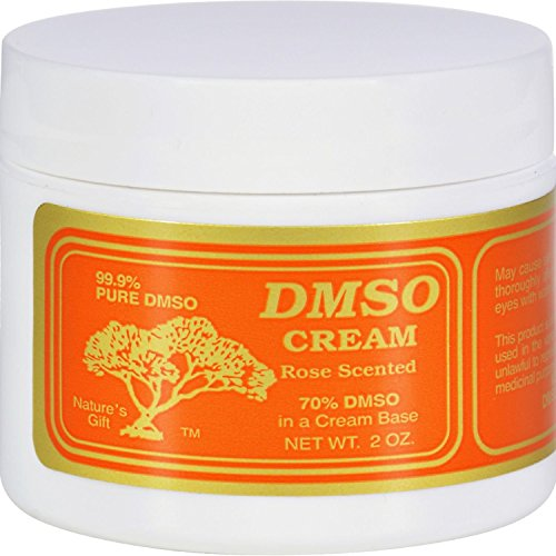 DMSO Cream Rose Scented product image