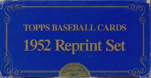 1952 Topps Reprint - 1952 Topps Baseball Factory Sealed Reprint Set 407 Cards Mantle