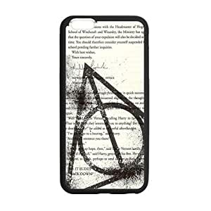 Harry Potter Symbol Custom Durable Hard Cover Case for iPhone 6 - 4.7 inches case - Black Case