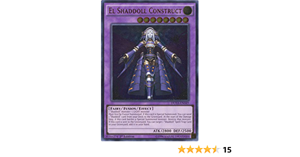 3x Ultra Rare El Shaddoll Construct Mixed Sets Mixed Editions