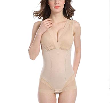 58e5165627e86 Image Unavailable. Image not available for. Color  Slimming Bodysuits Waist  Trainer Tummy Control Stretchy Butt Lifter Women Body Shapers ...