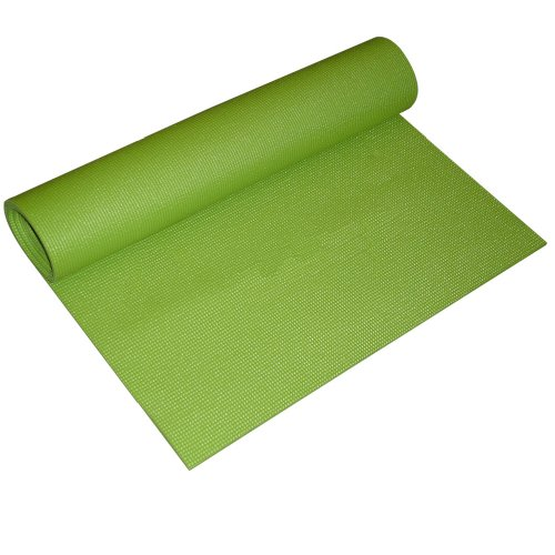 YogaDirect 1/8 Inch Thick Sticky Yoga Mat, Olive Green
