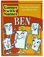 BEN'S GAME New card game gift for men called Ben or Benjamin