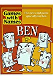 BEN'S GAME: New card game gift for men or boys called Ben or Benjamin. ideal for birthdays, Christmas, stocking fillers, secret santa etc