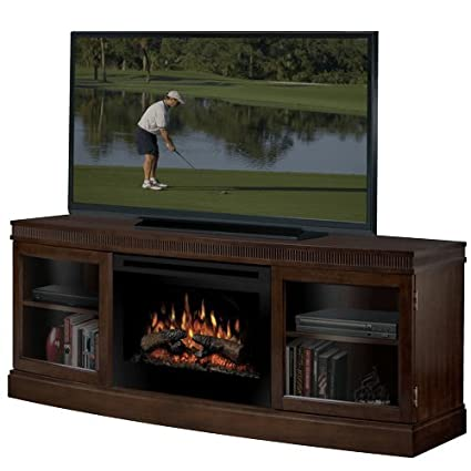 amazon com dimplex wickford 54 tv stand with electric fireplace rh amazon com Amish Electric Fireplace TV Stand Dimplex Charlotte Electric Fireplace TV Stand