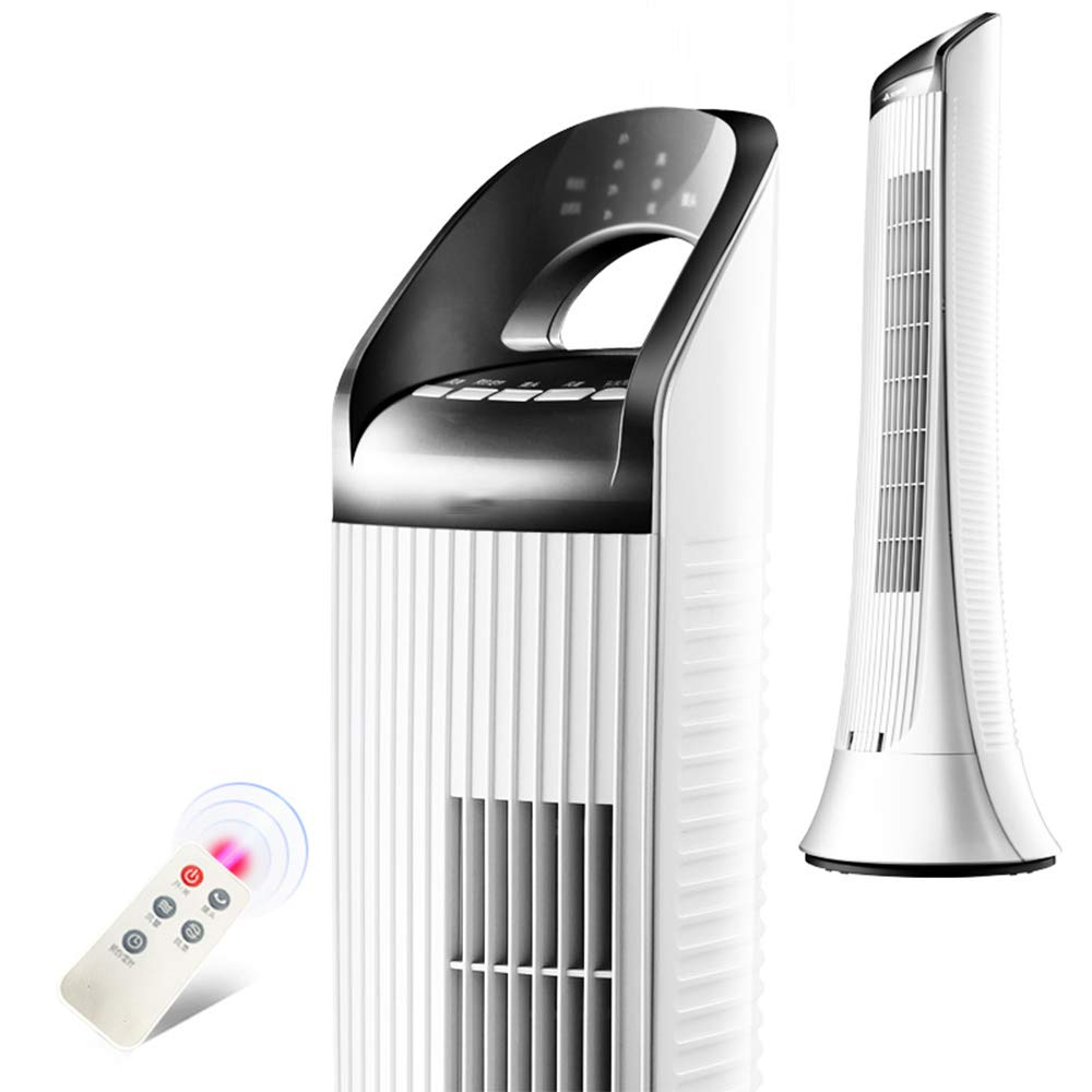 CHUANLAN 扇風機 リモートコントロール付きのタワーファン - サイレントリーフレス空調ファン   B07G46R7W6