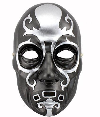 Lucius Malfoy Death Eater Costume (Mxnpolar Death Eater Lucius Malfoy Resin Airsoft Mask)