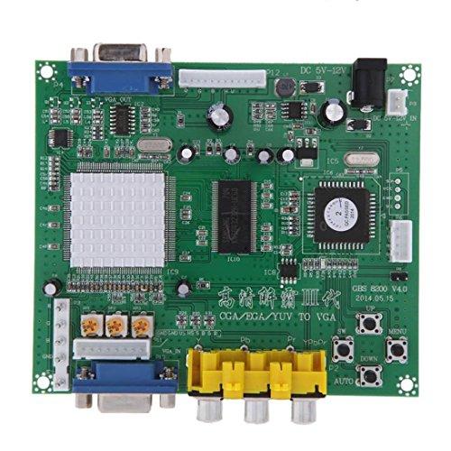 Gotd NEW Arcade Game RGB CGA EGA YUV To VGA HD Video Converter Board HD9800 ()