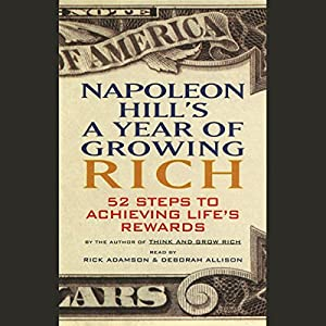 Napoleon Hill's A Year of Growing Rich | Livre audio