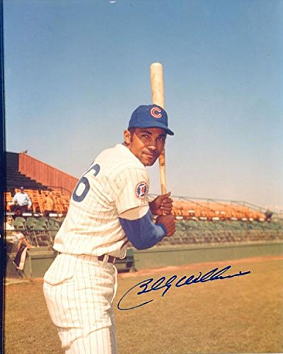 Billy Williams Autographed Batting Pose 8x10 Photo - Autographed MLB Photos