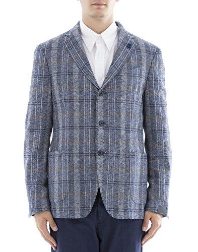 lardini-mens-ec902444-blue-polyester-blazer