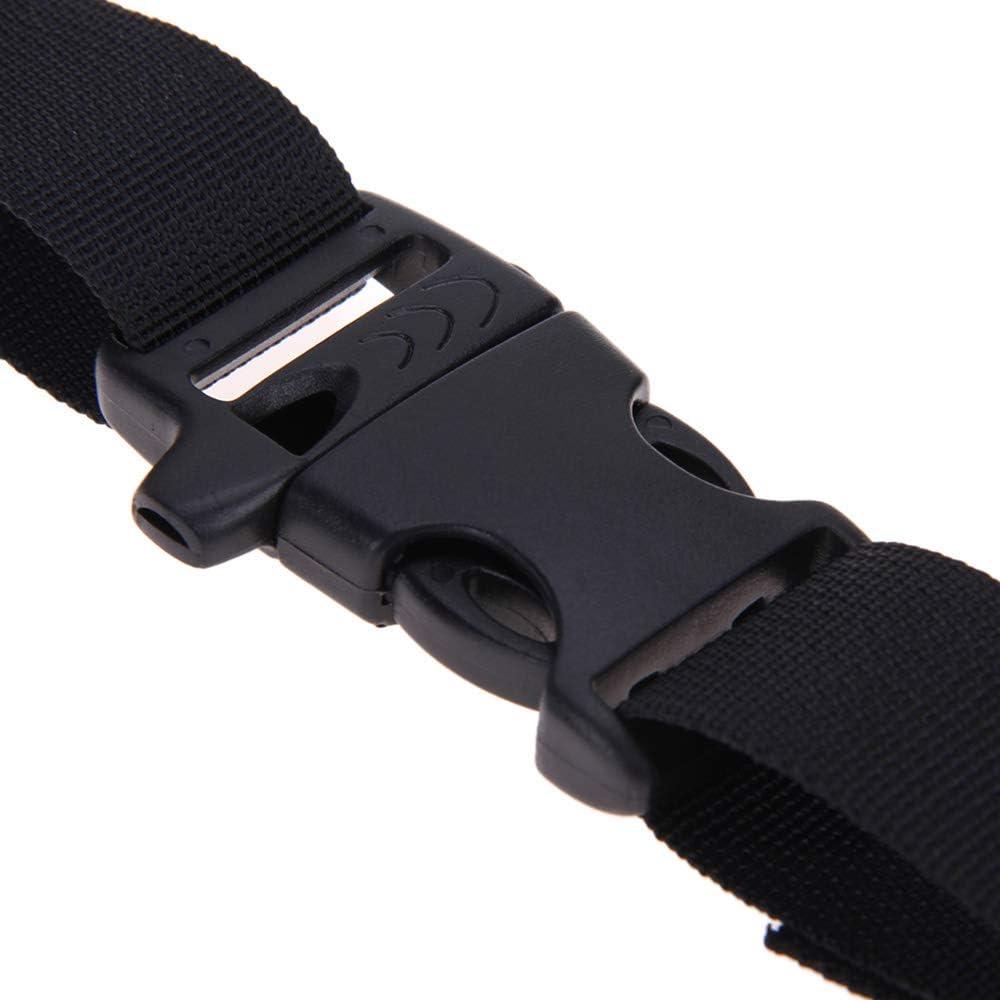 Nylon Chest Harness Adjustable Backpack Webbing Sternum Buckle Clip Strap