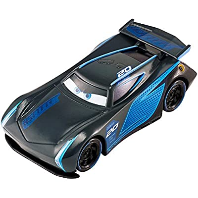 Disney Pixar Cars 3: Jackson Storm Die-cast Vehicle: Toys & Games