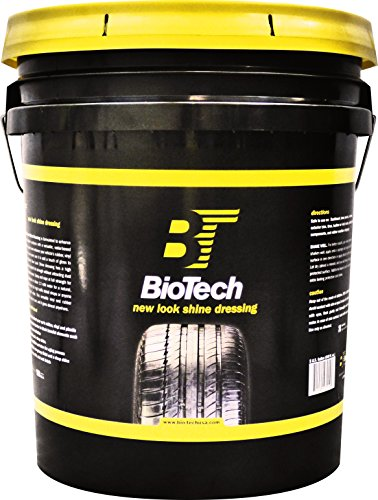 BioTech New Look Shine Dressing, Water Based Formula, Non Abrasive Dressing, Non Greasy Finish (5 Gallon Pail)