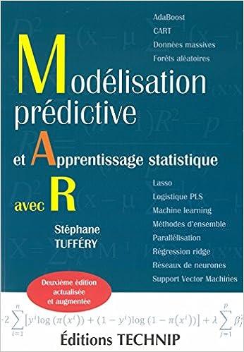 couverture du livre Modélisation Prédictive et Apprentissage Statistique avec R (Deuxième édition)