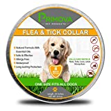 Primova Pet Products Flea and Tick Prevention Collar for Dogs - Non Toxic