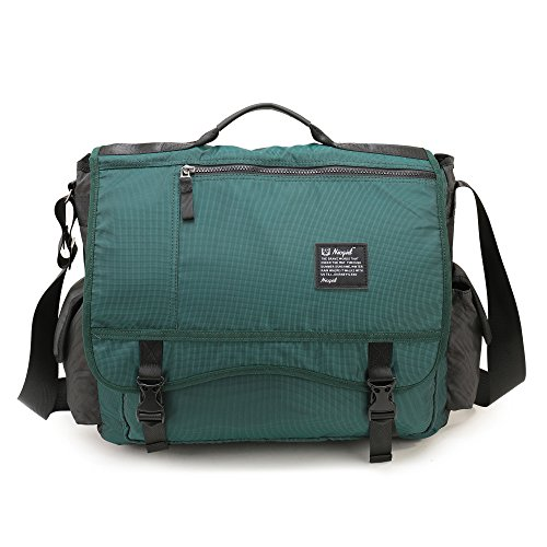 Nicgid Large Messenger Bag, 17.3-inch Laptop Messenger Bag Back to School Book Bag Men Women by Nicgid