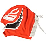 LaMex Child Luchador Wrestling Mask (Orange Black White)