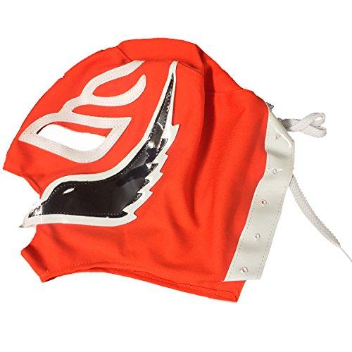 LaMex Child Luchador Wrestling Mask (Orange Black White)