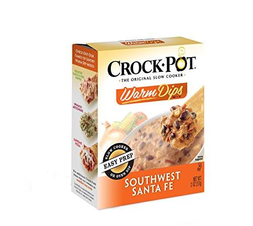 Crock-Pot Warm Dip Mix, Southwest Santa Fe, 2.00 Ounce (Pack of 12)